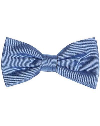 Niebieski muszka Mucha Tommy Hilfiger