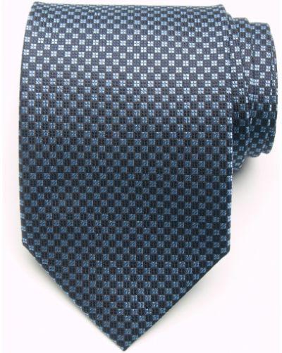 Синий галстук итальянский Coveri Collection