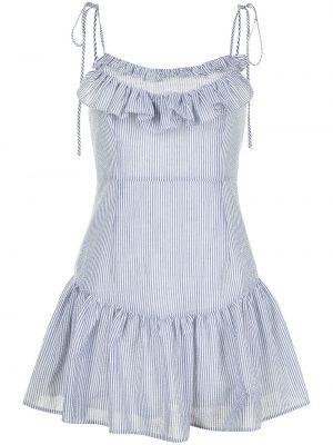 Серое платье мини с вырезом квадратное Alice Mccall