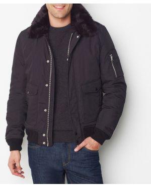 Куртка с капюшоном укороченная с воротником-стойкой Schott