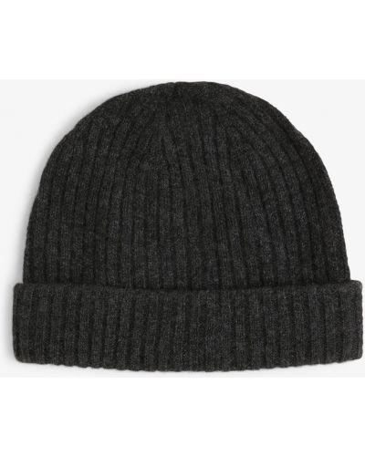 Szary czapka baseballowa Finshley & Harding
