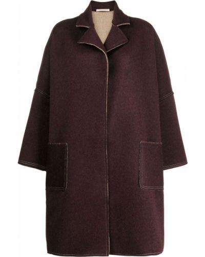 Длинное пальто оверсайз из ангоры Ermanno Gallamini