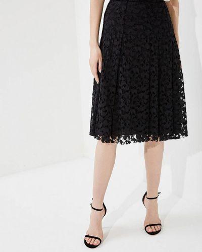 Черная юбка миди Carven