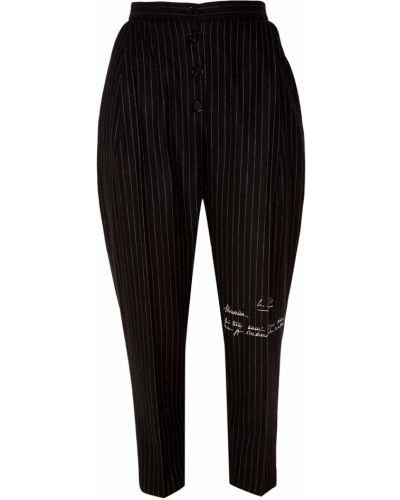 Свободные брюки с лампасами со штрипками Ruban