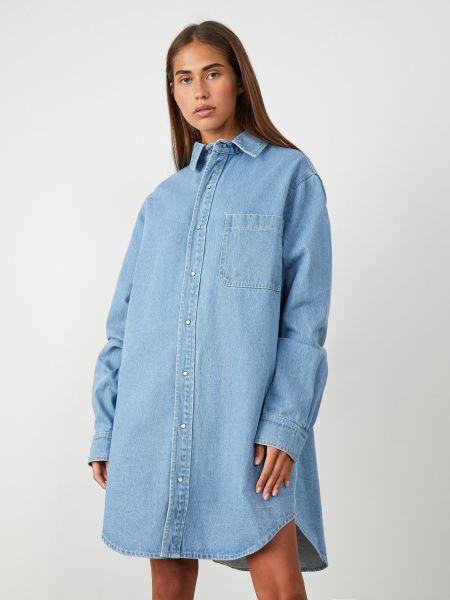 Джинсовое платье платье-рубашка 12storeez