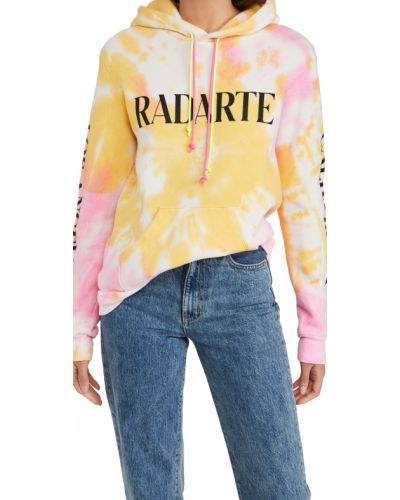 Ватная желтая резинка для волос с карманами Rodarte