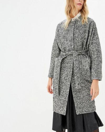 Пальто демисезонное серое Immagi