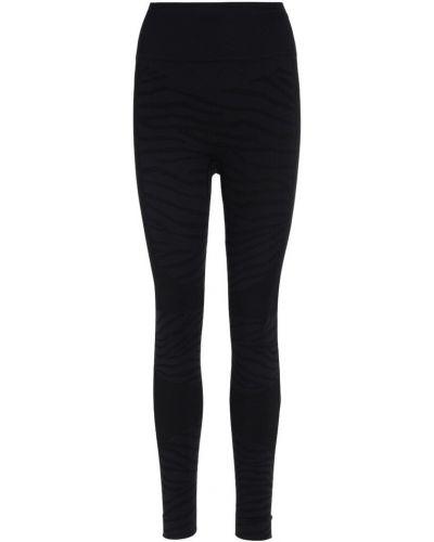 Czarne legginsy Adidas By Stella Mccartney
