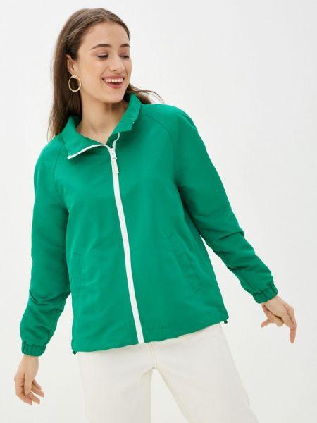 Зеленая облегченная куртка Q/s Designed By