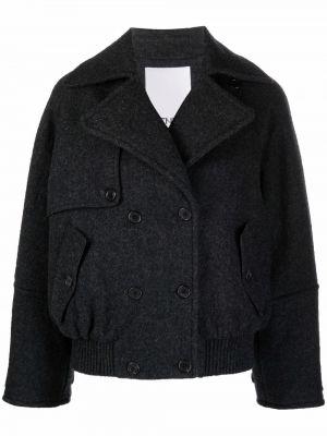 Серая куртка с воротником Kenzo