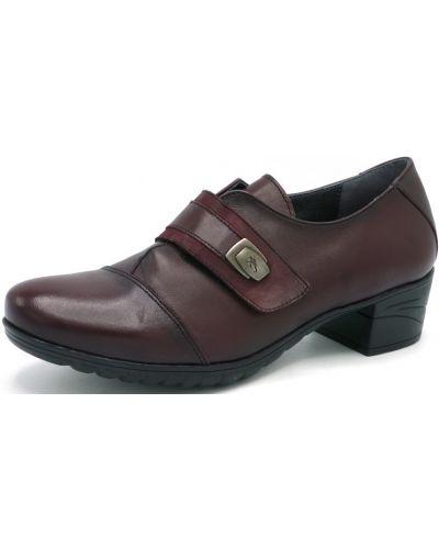 Туфли - бордовые Fluchos