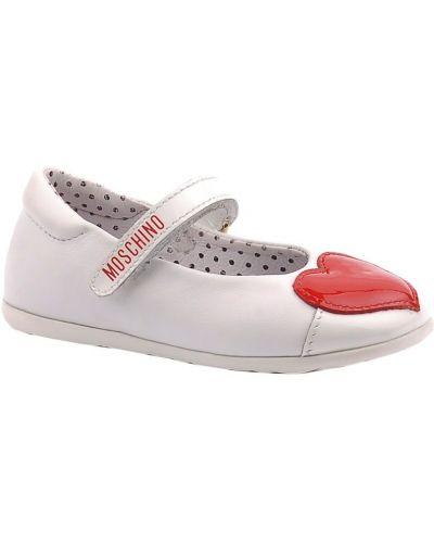 Туфли белые Moschino