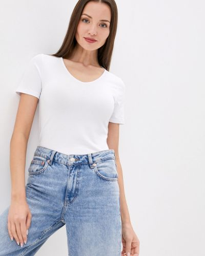 Белая домашняя футболка Teyli