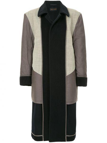 Пальто классическое шерстяное двустороннее Comme Des Garçons Pre-owned