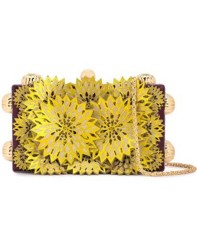 Желтая сумка Tonya Hawkes