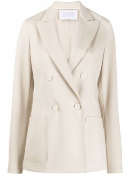 Пиджак с накладными карманами двубортный Harris Wharf London