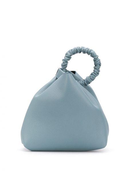 Синяя сумка-тоут Elena Ghisellini