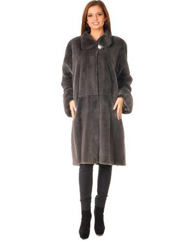Норковая шуба - серая Saga Furs