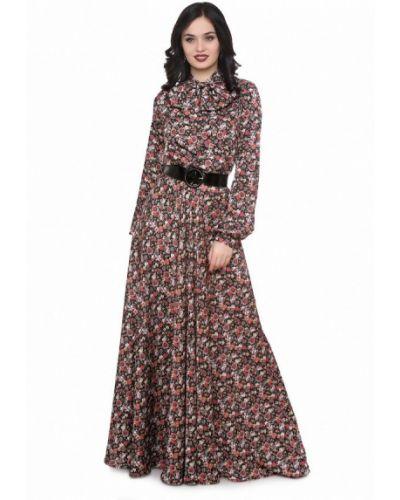 Коричневое платье весеннее Olivegrey
