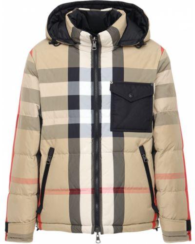 Пуховая куртка - бежевая Burberry