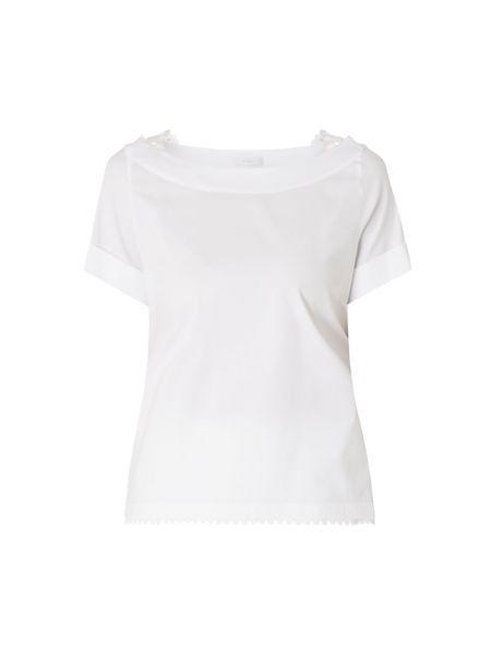 Bluzka krótki rękaw bawełniana rozkloszowana Riani