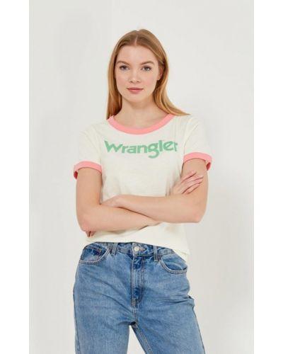 Желтая футболка Wrangler