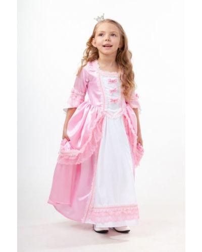 Длинное платье школьное принцессы пуговка