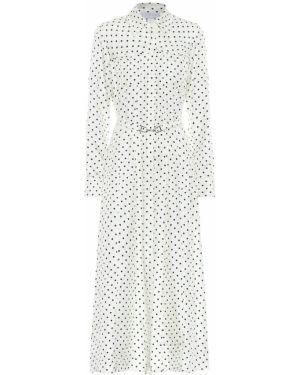 Платье в рубчик шелковое Gabriela Hearst
