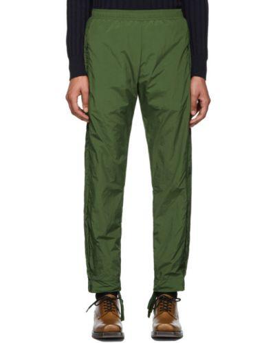 Zielone spodnie z nylonu z siateczką Cottweiler