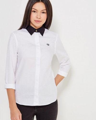 Рубашка белая Fred Perry