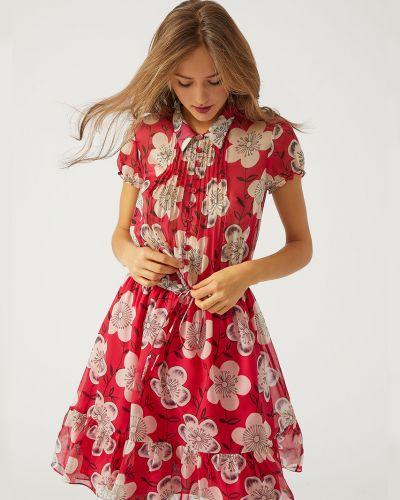 Платье весеннее шелковое Emporio Armani