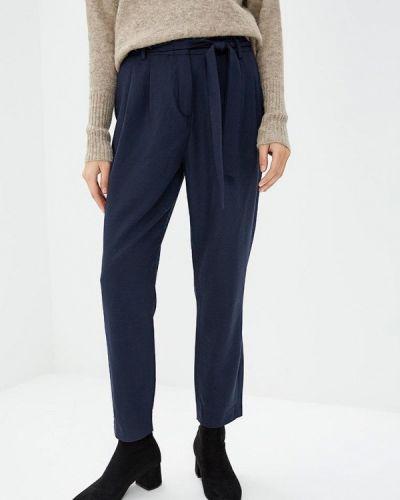 Синие брюки повседневные Selected Femme