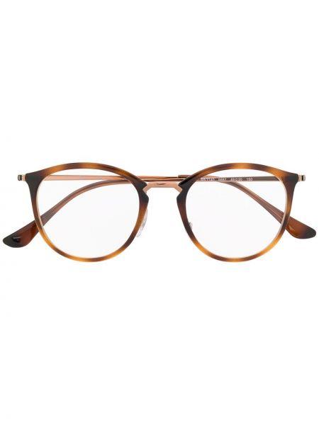 Brązowy oprawka do okularów okrągły Ray-ban