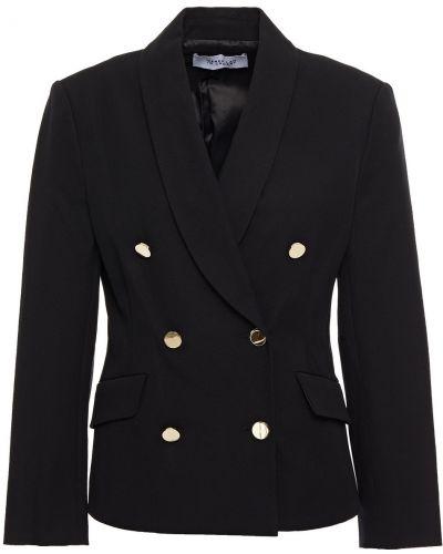 Черный пиджак двубортный с подкладкой Derek Lam 10 Crosby
