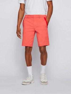 Повседневные оранжевые шорты Boss