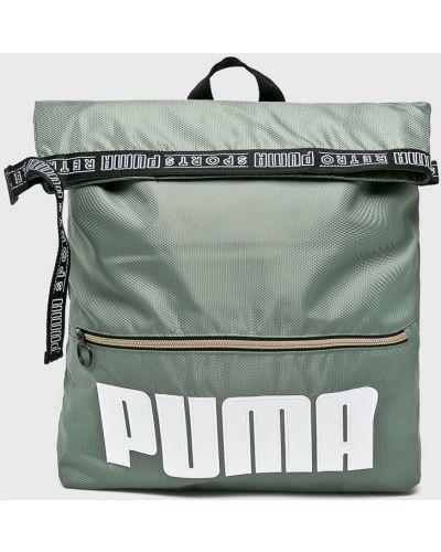 Зеленый рюкзак с отделениями Puma