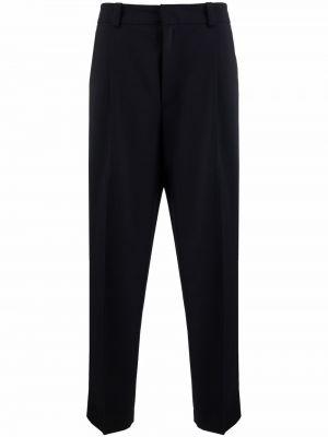 Spodnie z wiskozy - niebieskie Acne Studios