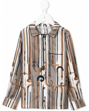 Рубашка на пуговицах Dolce & Gabbana Kids