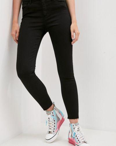 Черные джинсы-скинни узкого кроя 3x1
