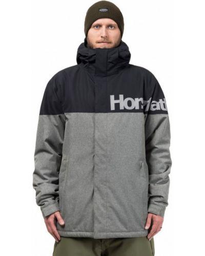 Куртка горнолыжная черная сноубордический Horsefeathers®