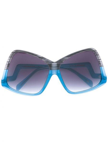 Niebieskie okulary Sama Eyewear