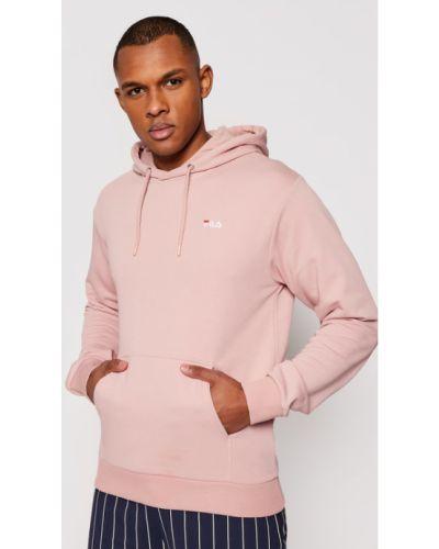 Różowa bluza Fila