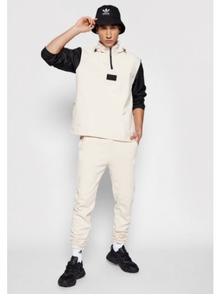 Beżowe spodnie dresowe Adidas Originals