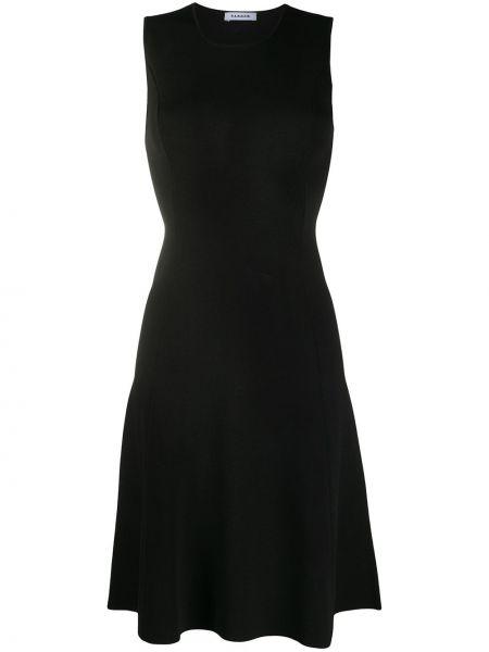 Платье черное приталенное P.a.r.o.s.h.