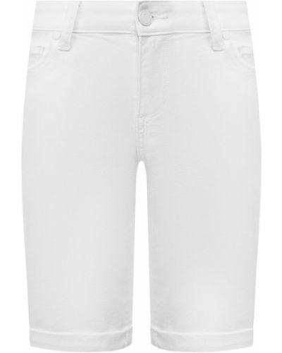 Джинсовые шорты белые Paige