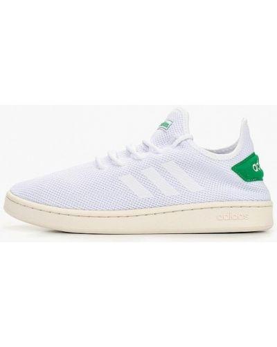 Белые кроссовки низкие Adidas