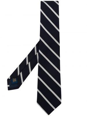 Krawat w paski - biały Polo Ralph Lauren
