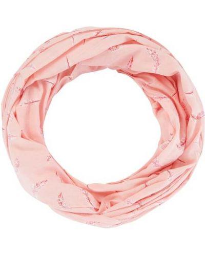 Bawełna bawełna różowy szal Esprit