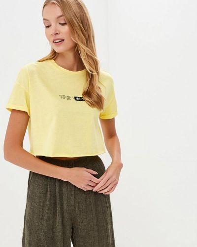 Желтая футболка 2019 Befree