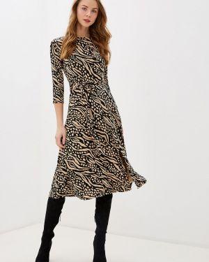 Повседневное платье осеннее бежевое Wallis
